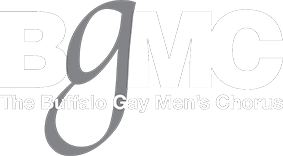 branding and info for buffalo gay men's chorus